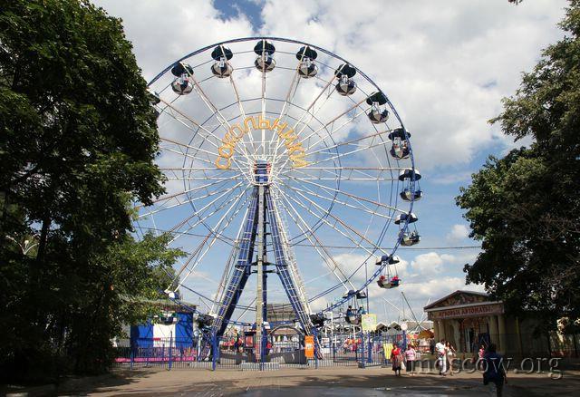 Московские парки предлагают развлечения